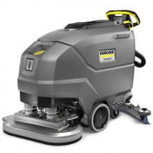 Walk behind floor scrubber, Karcher BD 70/75 W BP Classic, Angled View
