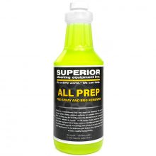 SCE All Prep Chemical, Bug Remover, Bird Droppings, Vehicle, 1 Quart Bottle, Green Liquid