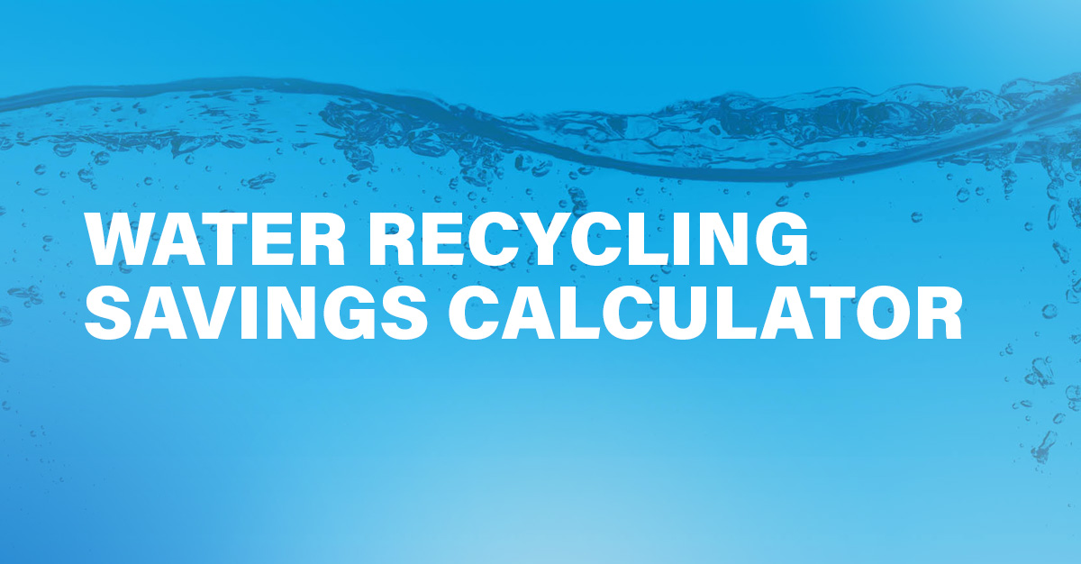 Wash Water Recycling Savings