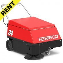 FactoryCat Model 34 Sweeper For Rent