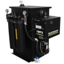 Mobile Filtration System, MFS, 5 GPM, no Vacuum, Water Recycling System