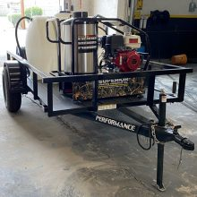 SCE PGH Mobile Pressure Washer Trailer For Sale, Hot Water, Water Tank