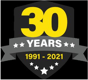 30th Year Anniversary Icon