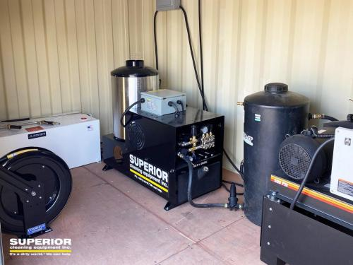 Self Contained Wash Rack, Power Washer, Water Blaster, Hose Reel